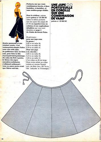 Как сшить летнюю юбку из трикотажа