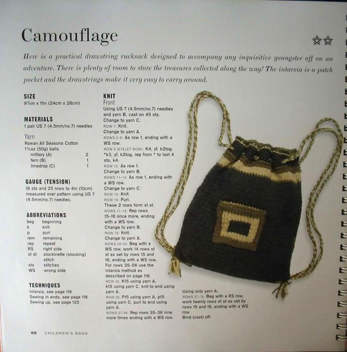 Схема сумки крючком - woman7ru