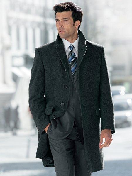 Классическое мужское пальто 7