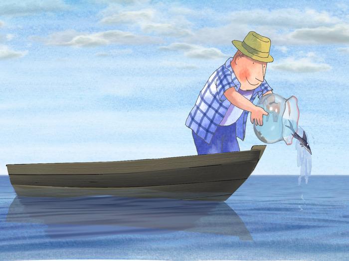 Jimmy Liao рыбка (700x525, 110Kb)