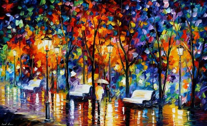 Картинки спокойной ночи осенью
