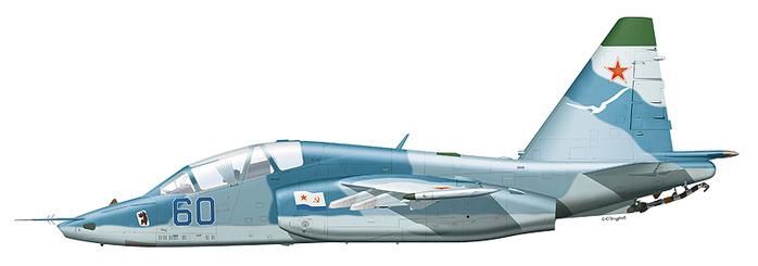 в 1988 году выполнен первый полет первого опытного экземпляра самолета Су-25УТГ (Т8УТГ-1), летчик-испытатель Устенков.