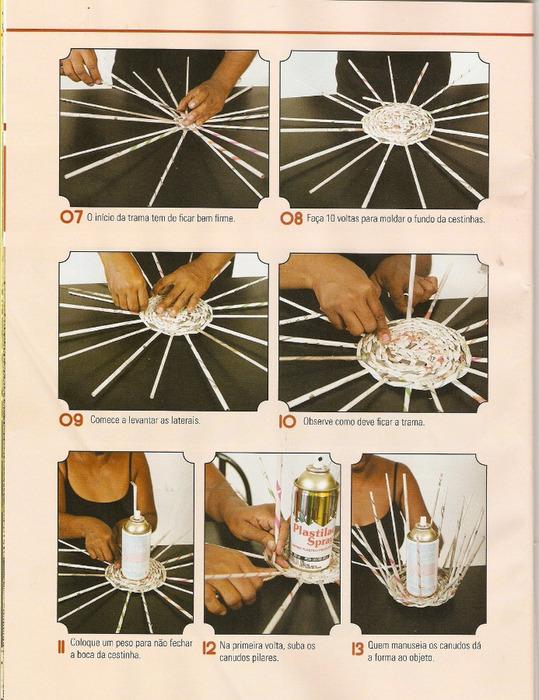 Поделки из газет своими руками с инструкцией
