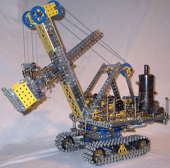 Meccano_model_Steam_shovel_excavator (558x552, 79Kb)