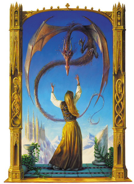 И пошла к дракону.