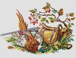 Превью ОС-397 «Охотничий сюжет с фазаном» (450x342, 171Kb)
