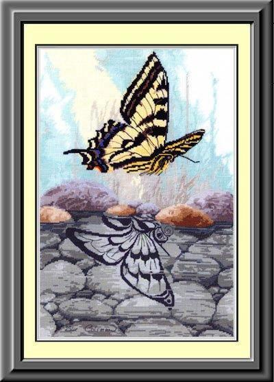 0Butterfly Reflection (400x557, 48Kb)