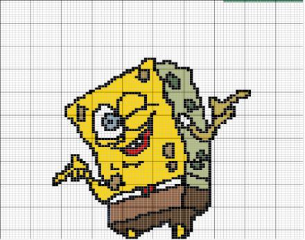 Рпанч Боб (Sponge Bob) - это