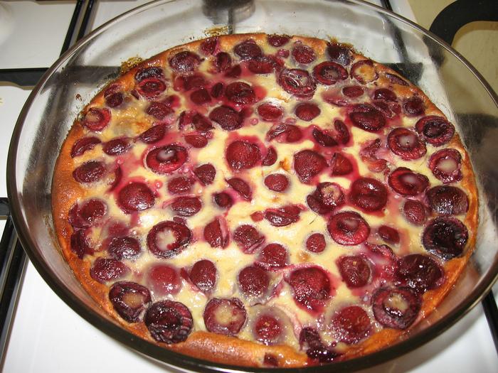 Домашний пирог вишней рецепт фото