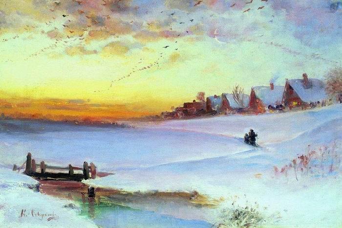 Вместо заключения - Пейзаж в русской живописи 2-й половины XIX века