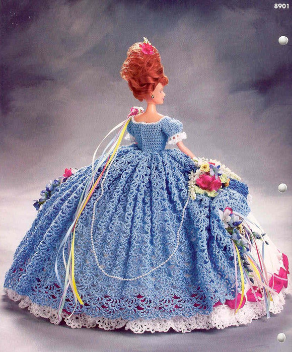 gift presents: barbie dolls in ball gowns