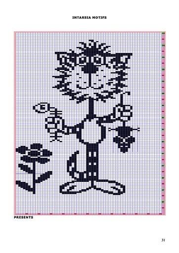 形状各异的编织猫 - maomao - 我随心动