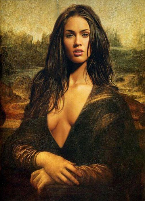 Современная Мона Лиза (504x700, 74Kb)