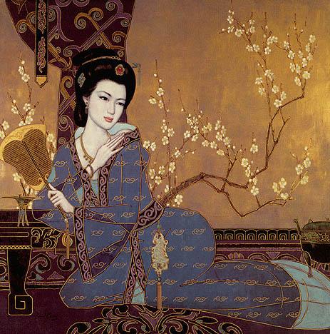 После смерти Мао большинство картин Банга этого периода были уничтожены.  В 1984 году художник с семьей эмигрировал в...