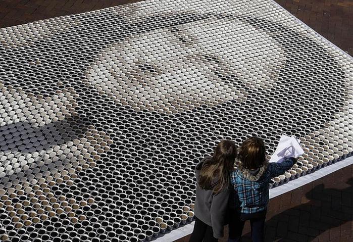 Мона Лиза из кофе-2 (700x479, 189Kb)