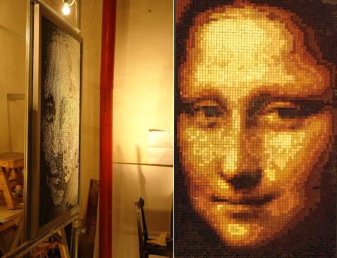Джоконда составлена из 3,5 тысяч отражений 30 оттенков (478x367, 61Kb)