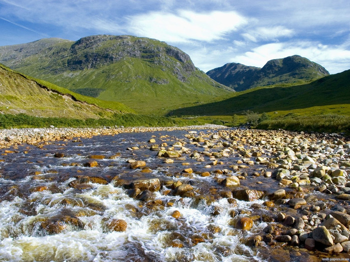 Glen Etive, The Highlands, Scotland (700x525, 208Kb)