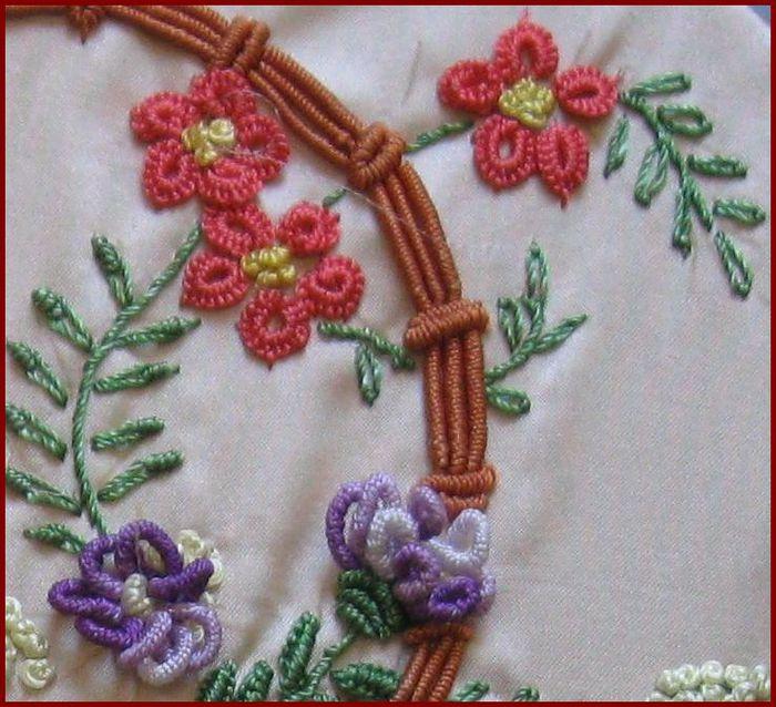 美丽的洛可可风格针刺绣 - maomao - 我随心动