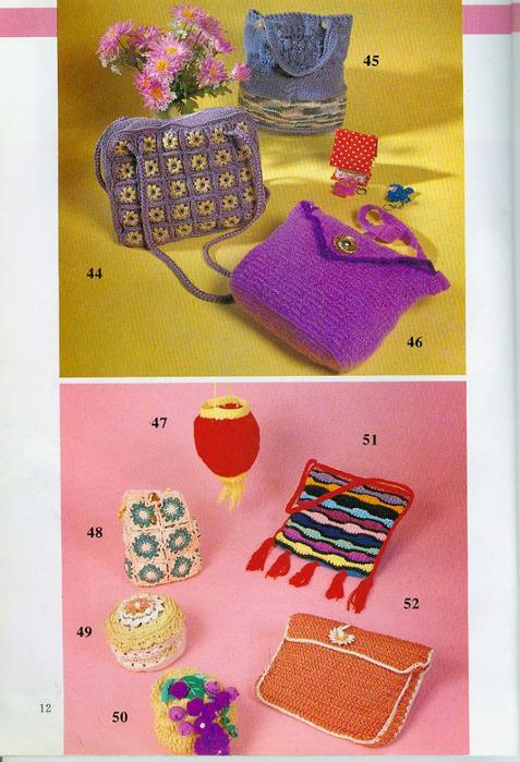 сумочки детские вязаные крючком.
