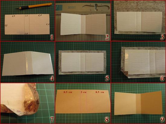 Как сделать маленький блокнот своими руками