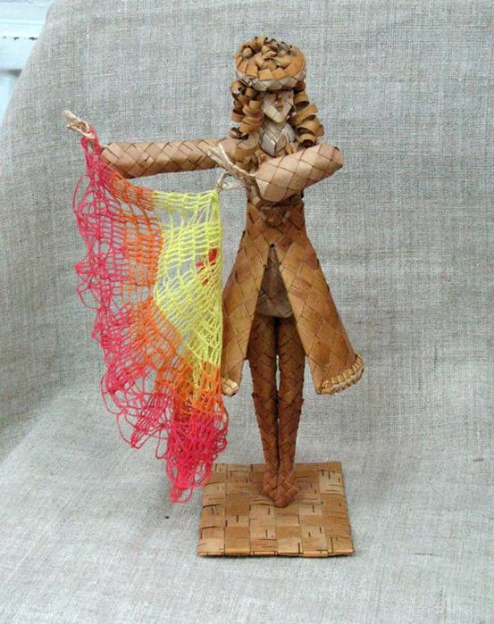 Девушка с платком (553x700, 183Kb)