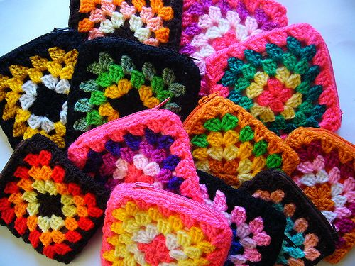 crafts for summer: crochet handbags