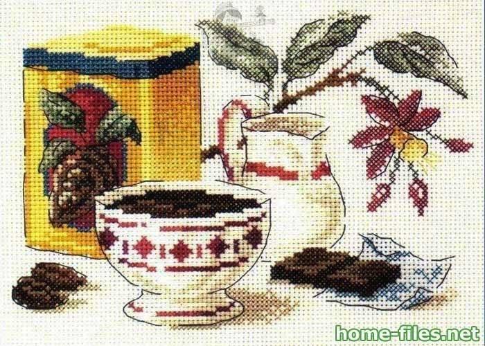 Это самая красивая вышивка для кухни, которую я видела! http://home-files.net/handmade/28-vyshivka-dlya-kuxni.html.