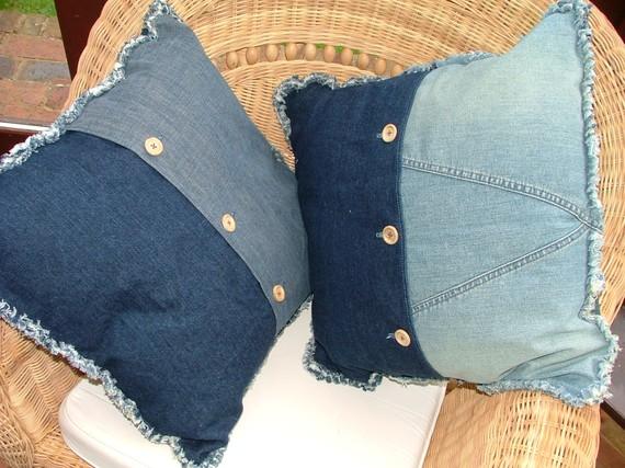 Изделия из старых джинс своими руками мастер класс