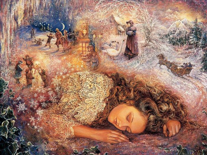 Жозефинн Уол зимний сон (700x525, 198Kb)