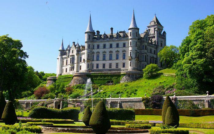 Замок инверари 18 век шотландия