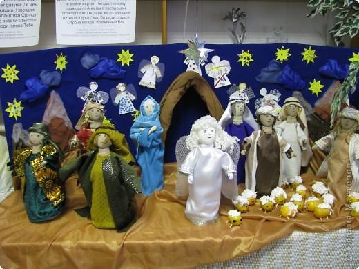 Куклы для рождественского вертепа своими руками
