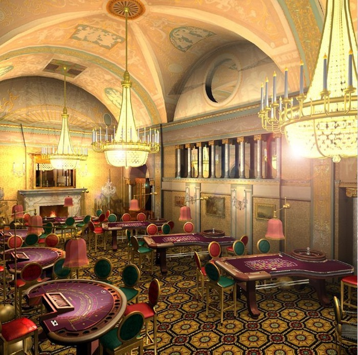 Красивый интерьер казино 1