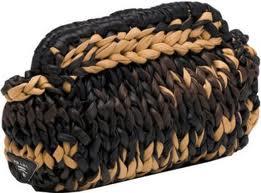 """В коллекцию  """"вязаных """" сумок Prada вошли самые разные модели - от ярких..."""