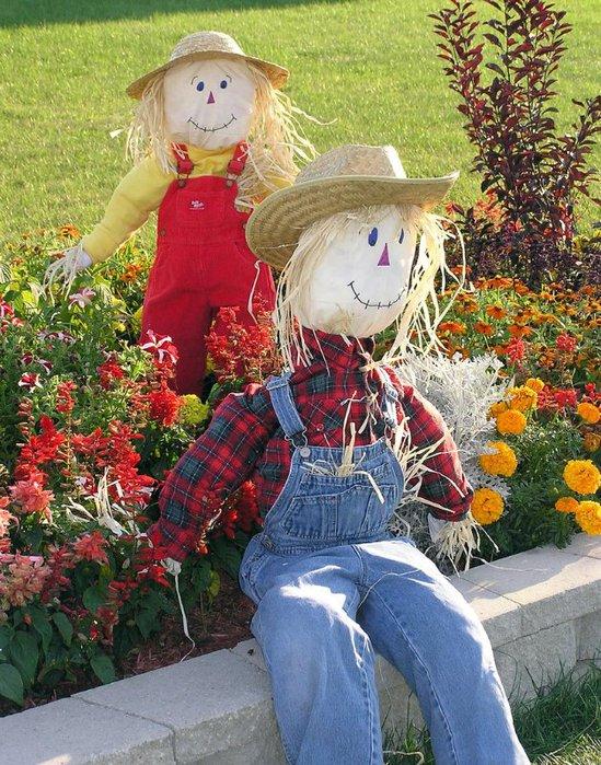 Садовые куклы своими руками фото 52
