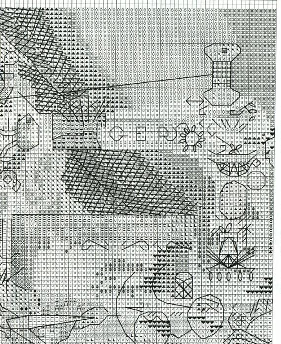 Швейные машинки.  Вышивка крестом.