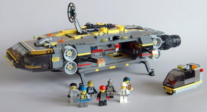 Космические корабли из лего фото