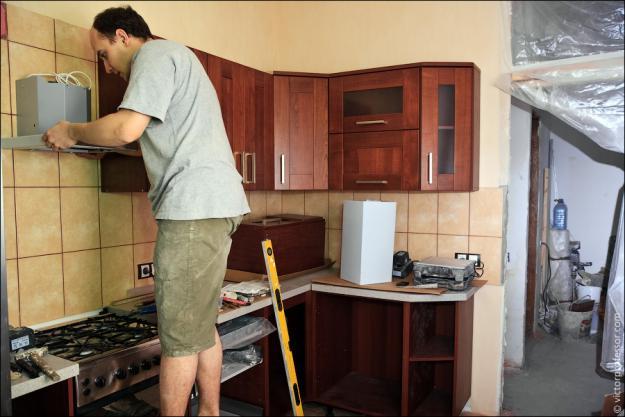 Сделать пол в кухне своими руками
