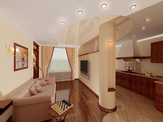 Дизайн однокомнатных квартир в стиле прованс