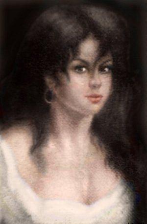 счастливый портрет цыганки (300x458, 16Kb)