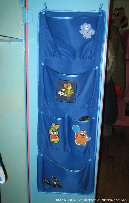 Как сшить кармашки на дверь в детском саду фото 805
