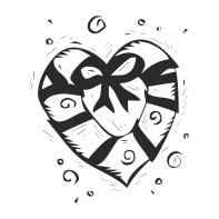 рождественское сердечко (197x197, 32Kb)