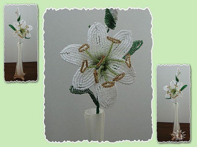 цветы из бисера-лилия (640x480