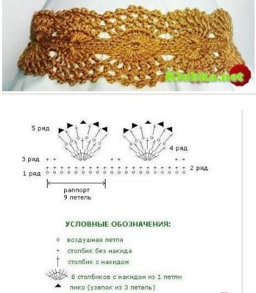 Ажурная повязка на голову для девочки-красивый узор крючком!/4683827_20120118_141202 (371x424, 42Kb)