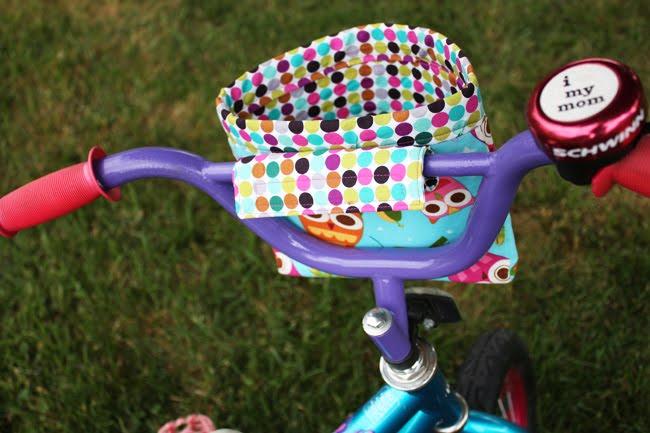 Как сделать корзинку для велосипеда своими руками