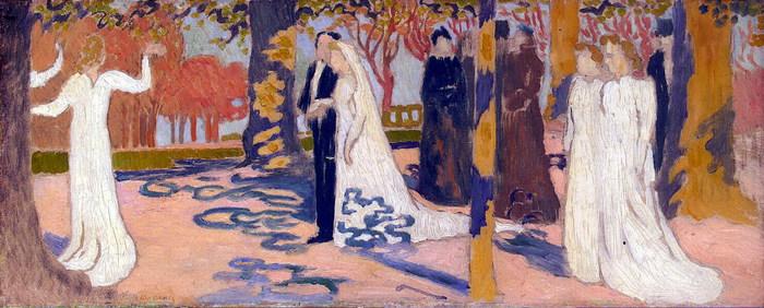Maurice Denis - Procesiune de nunta (700x282, 91kb)