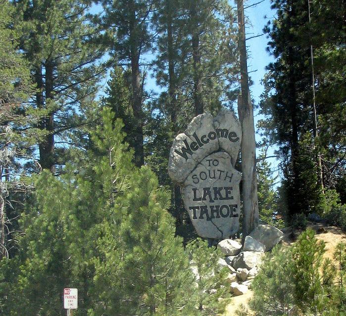 Озеро Тахо – курортный рай Америки 58641