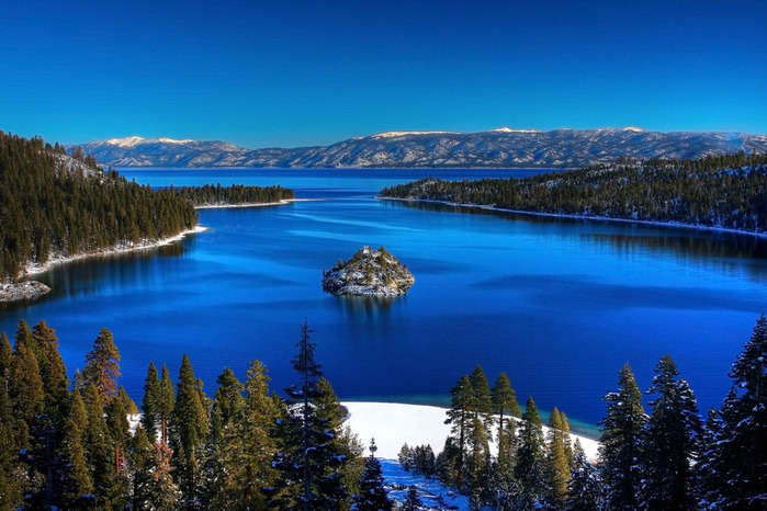 Озеро Тахо – курортный рай Америки 31407