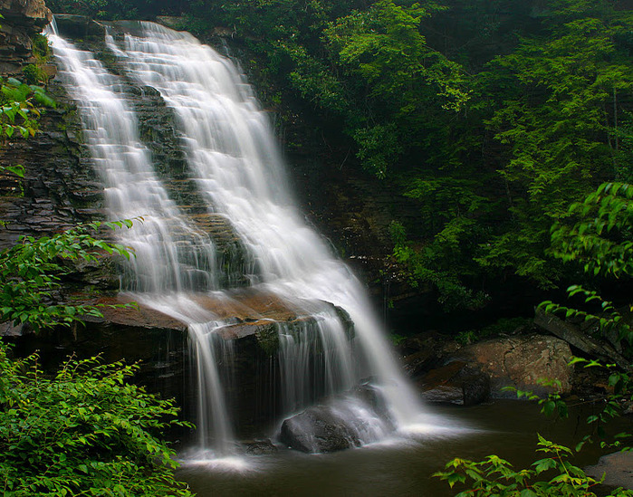 Swallow Falls State Park in Maryland USA 32282