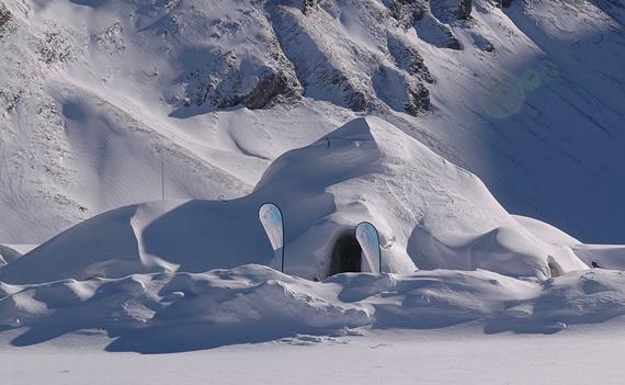 снежные дома (570x351, 130Kb)