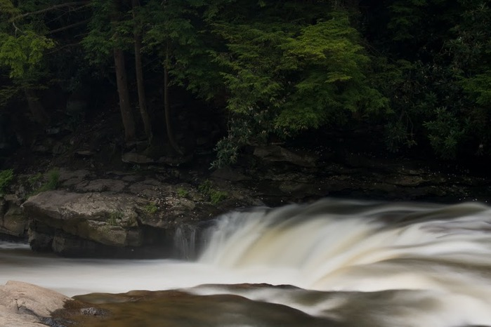 Swallow Falls State Park in Maryland USA 31176